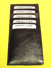 リザード長財布・カード