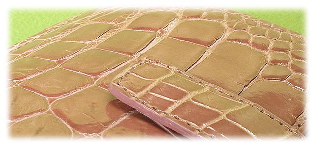 天然クロコダイル革