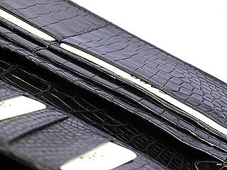 クロコダイル・メンズ長財布
